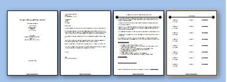 commercial cleaning bid packet